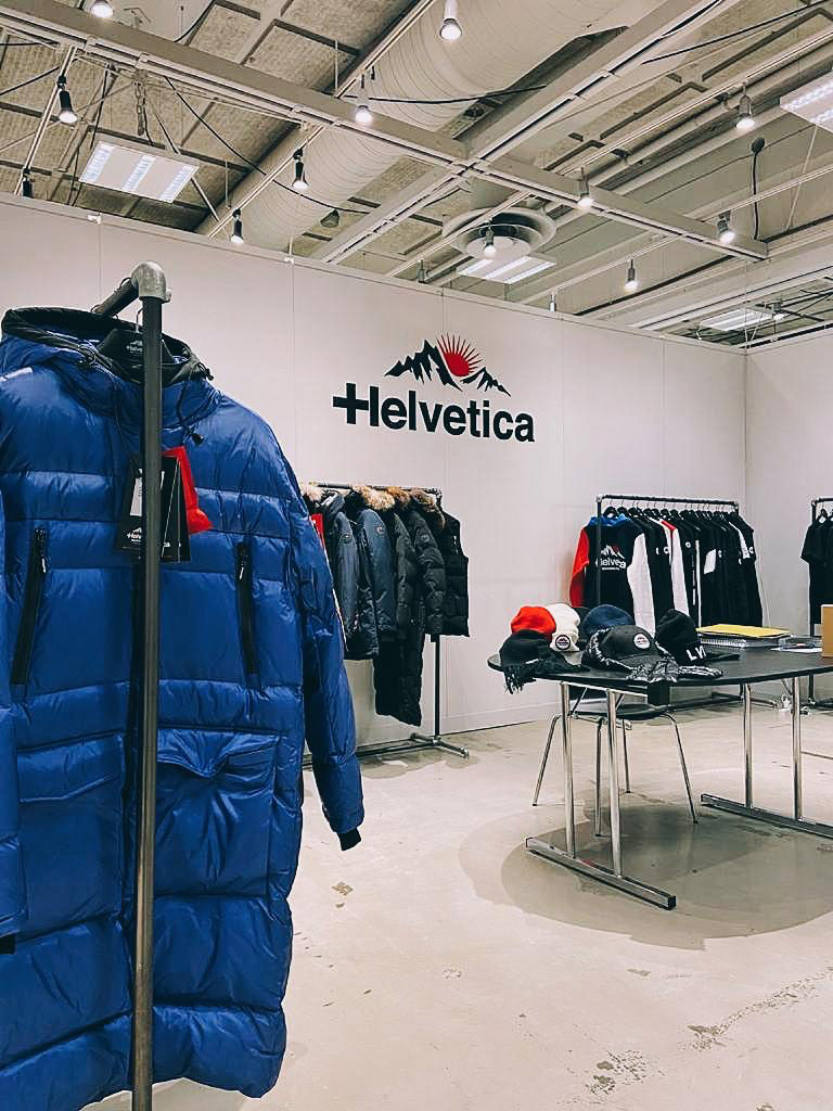 Helvetica at the Premium Berlin fair